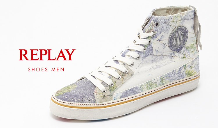REPLAY SHOES MEN