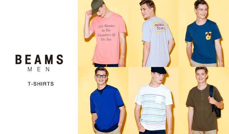 BEAMS MEN'S T-SHIRTS SELECTION