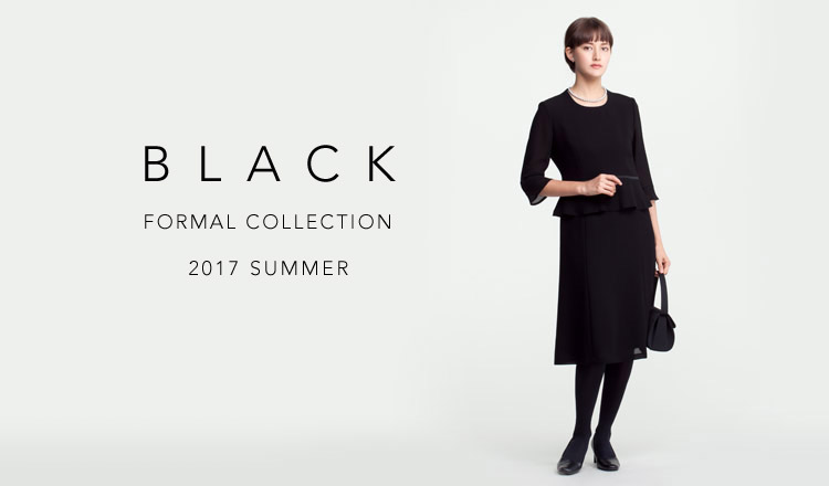 BLACK FORMAL COLLECTION -2017 SUMMER-