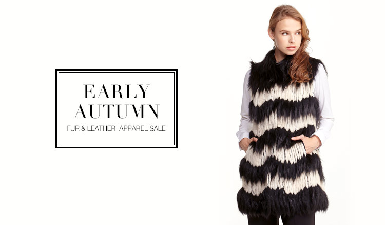 EARLY AUTUMN FUR & LEATHER  APPAREL SALE
