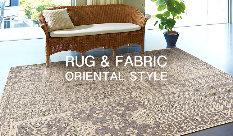 - ORIENTAL STYLE - RUG & FABRIC