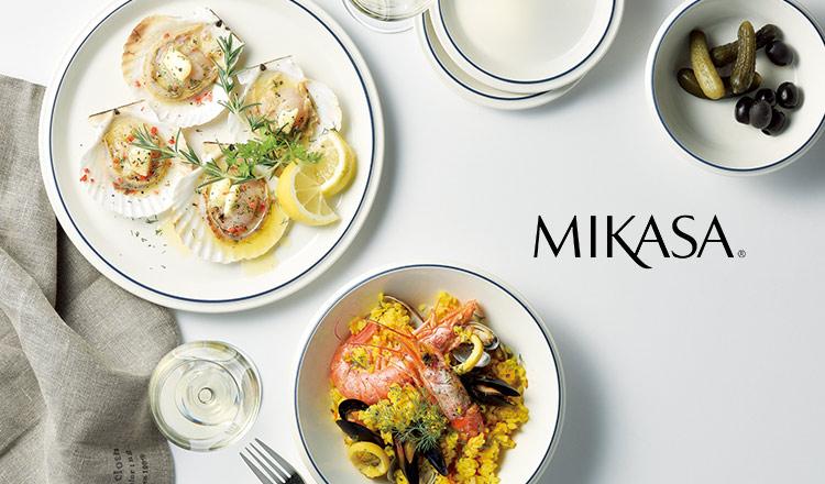 人生を味わう、大人のうつわスタイル-MIKASA-