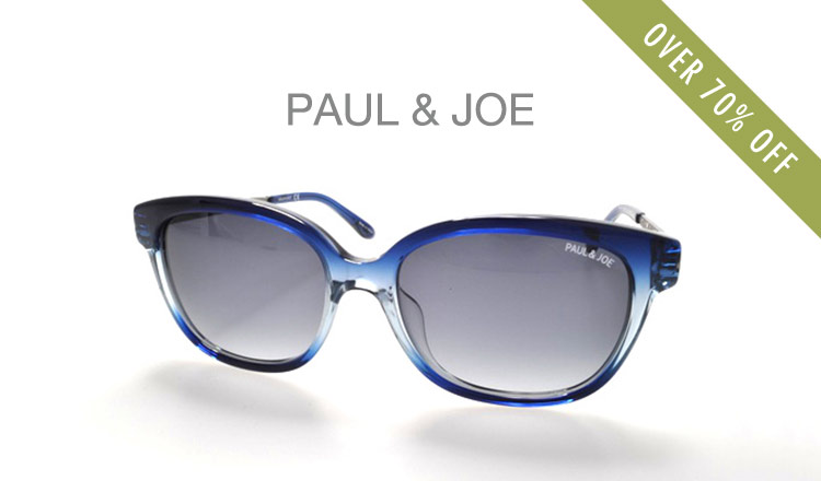 PAUL & JOE EYEWEAR_OVER 70%OFF