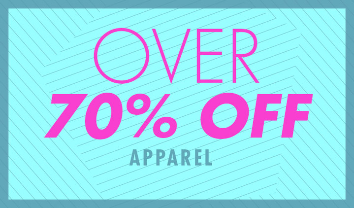 OVER70%OFF -APPAREL-
