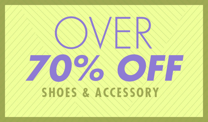 OVER70%OFF -SHOES & ACCESSORY -