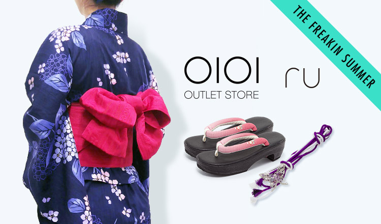 OIOI OUTLET STORE-ラクチン綺麗ゆかた_THE FREAKIN SUMMER
