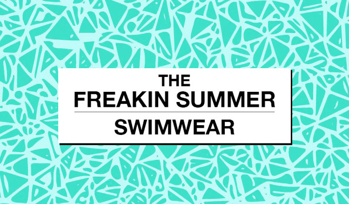 THE FREAKIN SUMMER-SWIM WEAR-
