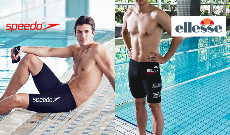 ELLESSE & SPEEDO -SWIMMING・FITNESS WEAR- MEN