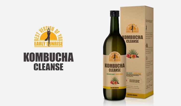 燃焼系ダイエットドリンク-KOMBUCHA CLEANSE-