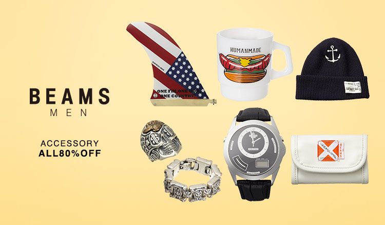 BEAMS MENS_ACCESSORY ALL80%OFF
