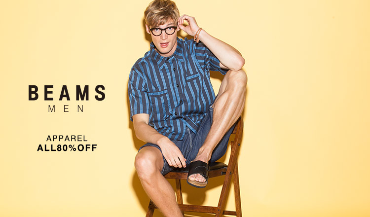 BEAMS MEN'S APPAREL ALL80%OFF