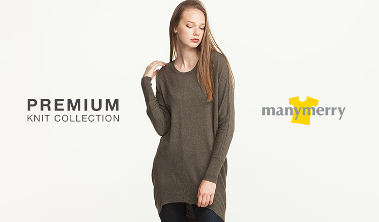 PREMIUM KNIT COLLECTION-MANYMERRY-