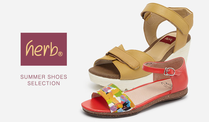 HERB -SUMMER SHOES SELECTION-