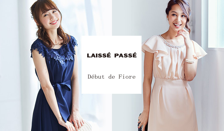 LAISSE PASSE/DEBUT DE FIORE-DRESS COLLECTION-