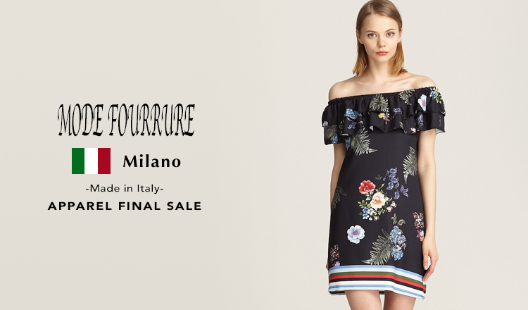 MODE FOURRURE -Made in Italy- APPAREL FINAL SALE