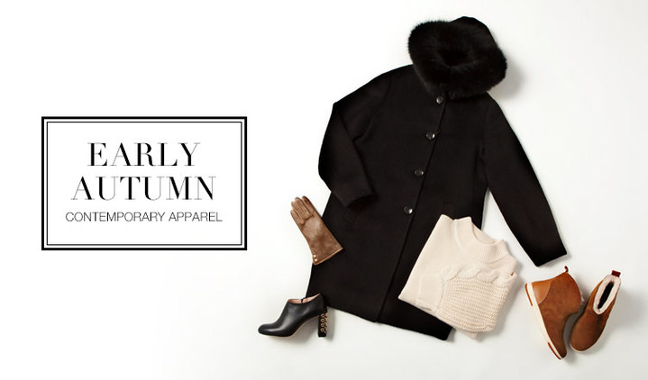 EARLY AUTUMN -CONTEMPORARY APPAREL-