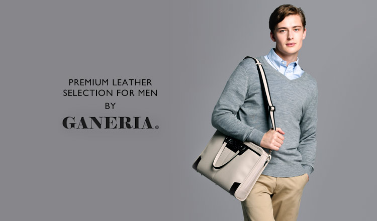 PREMIUM LEATHER SELECTION FOR MEN BY GANERIA