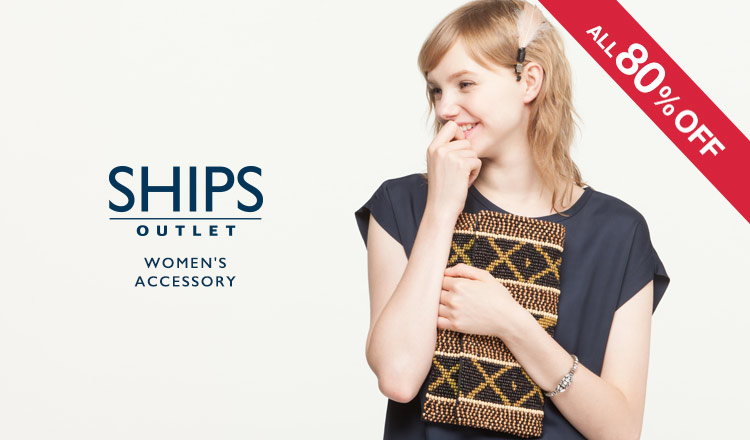 SHIPS OUTLET WOMEN'S ACCESSORY ALL80%OFF