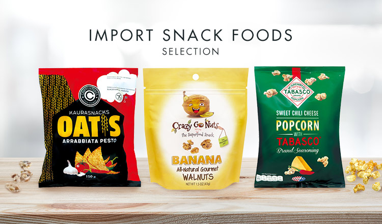 IMPORT SNACK FOODS SELECTION