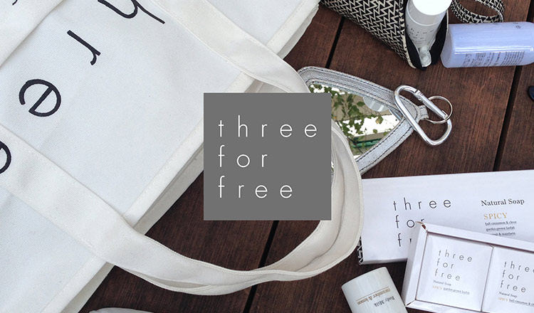 THREE FOR FREE