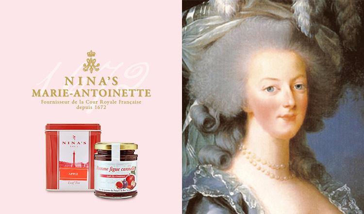 マリー・アントワネットが愛した紅茶 - NINA'S PARIS -