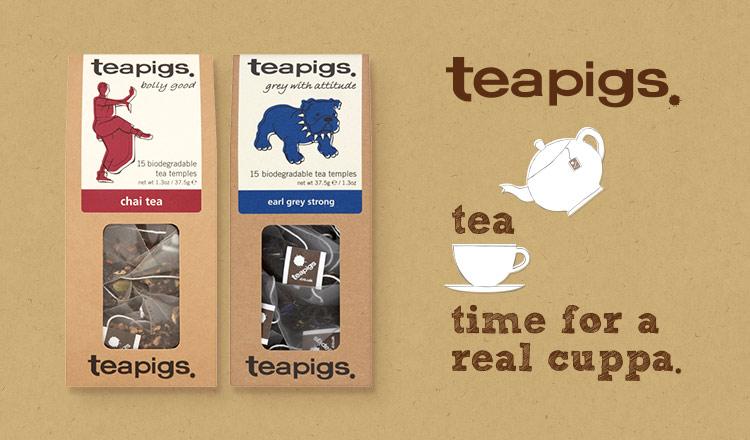 上品ぶらない。気取らない。本物のお茶 -TEAPIGS.-