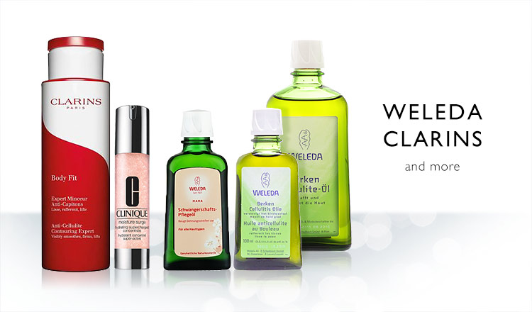 WELEDA/CLARINS and more