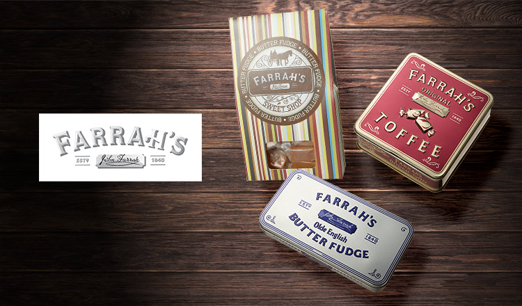 英国伝統のお菓子 -FARRAH'S TOFFEE & FUDGE-