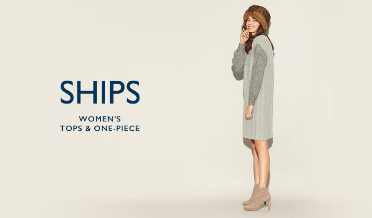 SHIPS WOMEN'S TOPS & ONE-PIECE