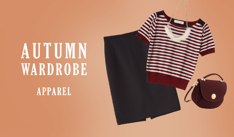 AUTUMN WARDROBE -APPAREAL-
