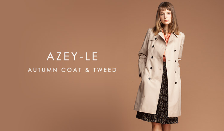 AZEY-LE AUTUMN COAT & TWEED