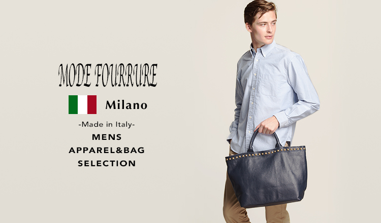ITALIAN MENS APPAREL&BAG SELECTION