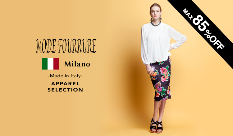 MODE FOURRURE Made in Italy APPAREL selection