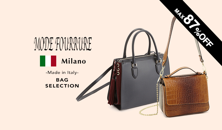 MODE FOURRURE Made in Italy BAG Selection