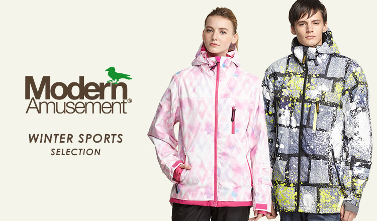 MODERN AMUSEMENT_WINTER SPORTS SELECTION