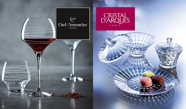 CRISTAL D'ARQUES PARIS/CHEF & SOMMELIER