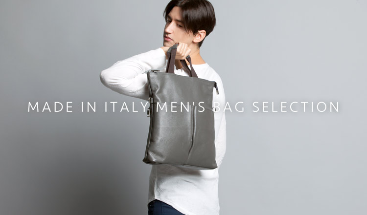 MADE IN ITALY MEN'S BAG SELECTION