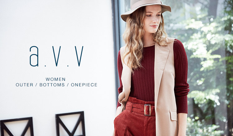a.v.v Women -OUTER / BOTTOMS / ONEPIECE -