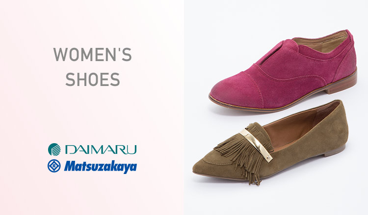 DAIMARU MATSUZAKAYA WOMEN'S  SHOES