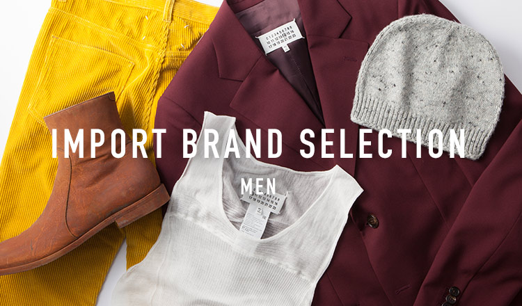 IMPORT BRAND SELECTION MEN