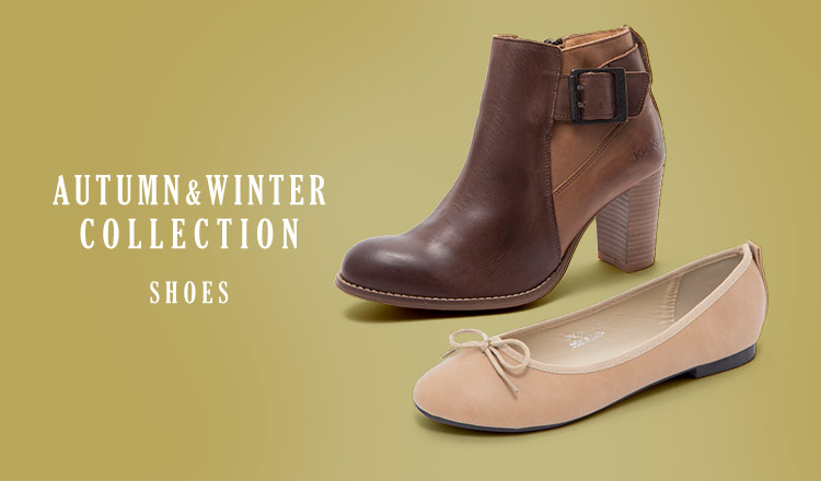 AUTUMN&WINTER COLLECTION -SHOES-