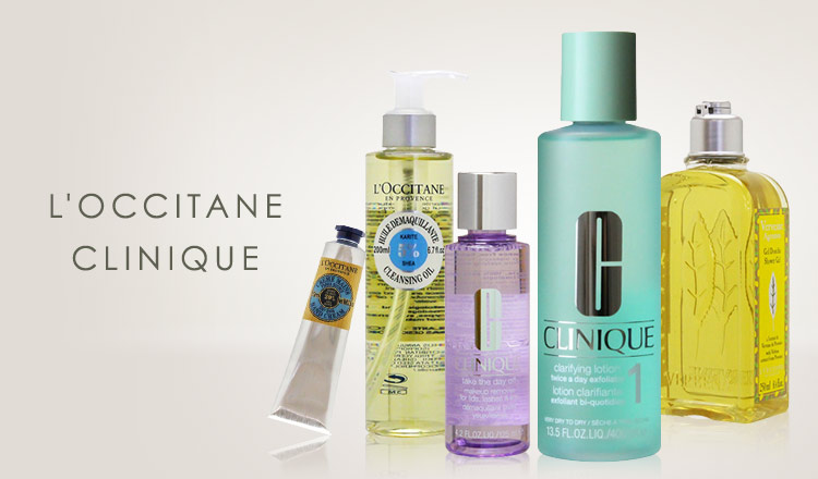 L'OCCITANE/CLINIQUE