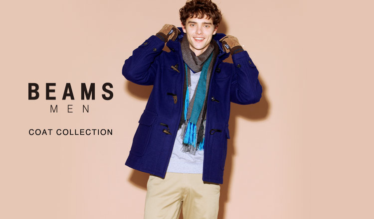 BEAMS MEN COAT COLLECTION