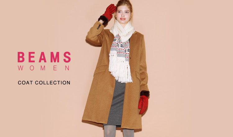 BEAMS WOMEN COAT COLLECTION