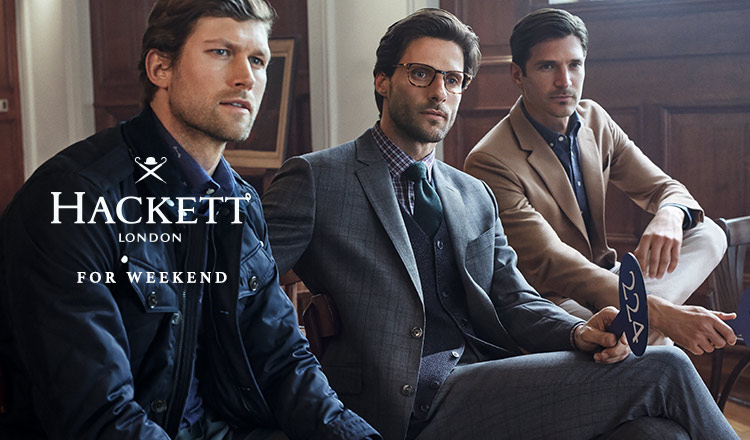 HACKETT LONDON -FOR WEEKEND-