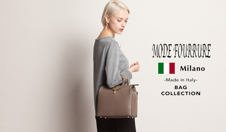 MODE FOURRURE -Made in Italy- Bag Collection