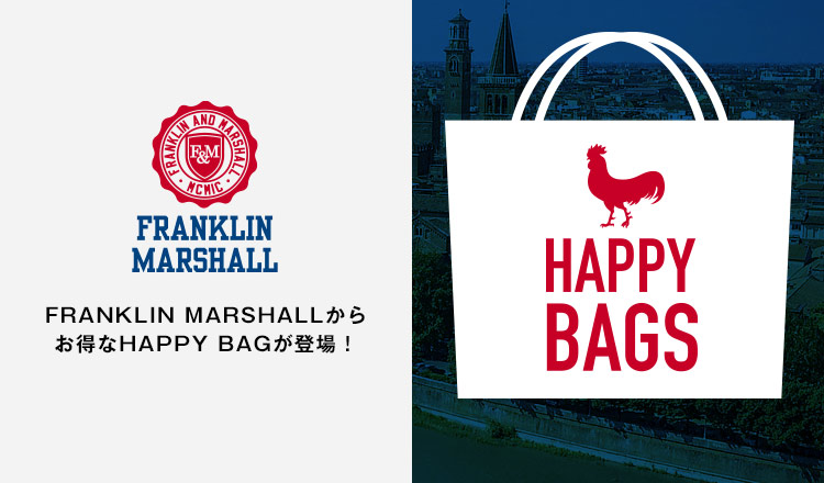 FRANKLIN MARSHALL -HAPPY BAG-