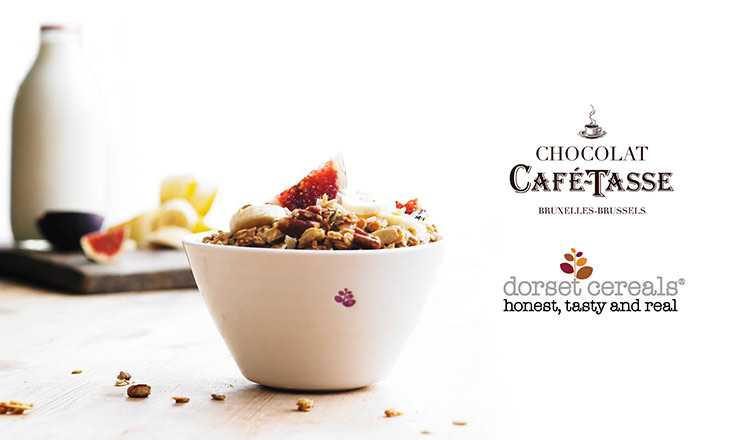 贅沢な味わい CAFE TASSE & DORSET CEREALS
