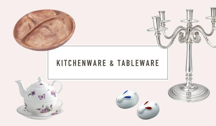 KITCHENWARE & TABLEWARE