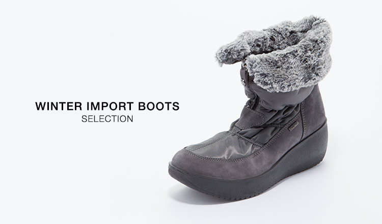 WINTER IMPORT BOOTS SELECTION